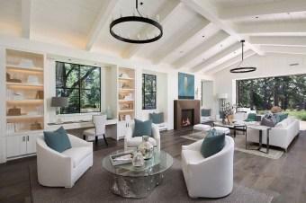 Totally Inspiring Modern Farmhouse Living Room Design Ideas 13