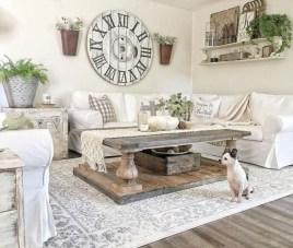 Totally Inspiring Modern Farmhouse Living Room Design Ideas 14