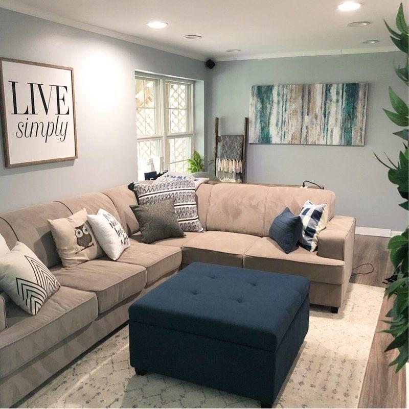 Totally Inspiring Modern Farmhouse Living Room Design Ideas 38