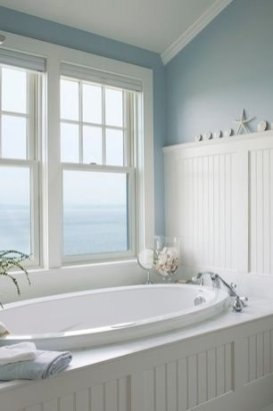 Awesome Bathroom Decor Ideas With Coastal Style 25
