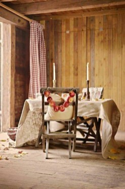 Awesome French Farmhouse Fall Table Design 23
