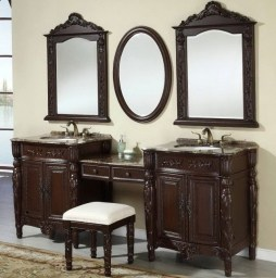 Awesome Rustic Farmhouse Vanities Ideas 05