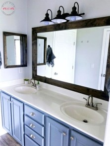 Awesome Rustic Farmhouse Vanities Ideas 29