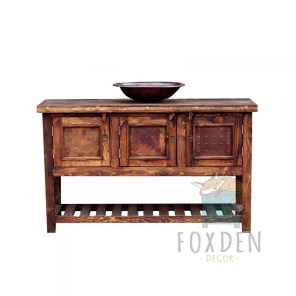 Awesome Rustic Farmhouse Vanities Ideas 31