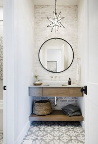 Awesome Rustic Farmhouse Vanities Ideas 32