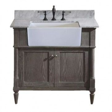 Awesome Rustic Farmhouse Vanities Ideas 38