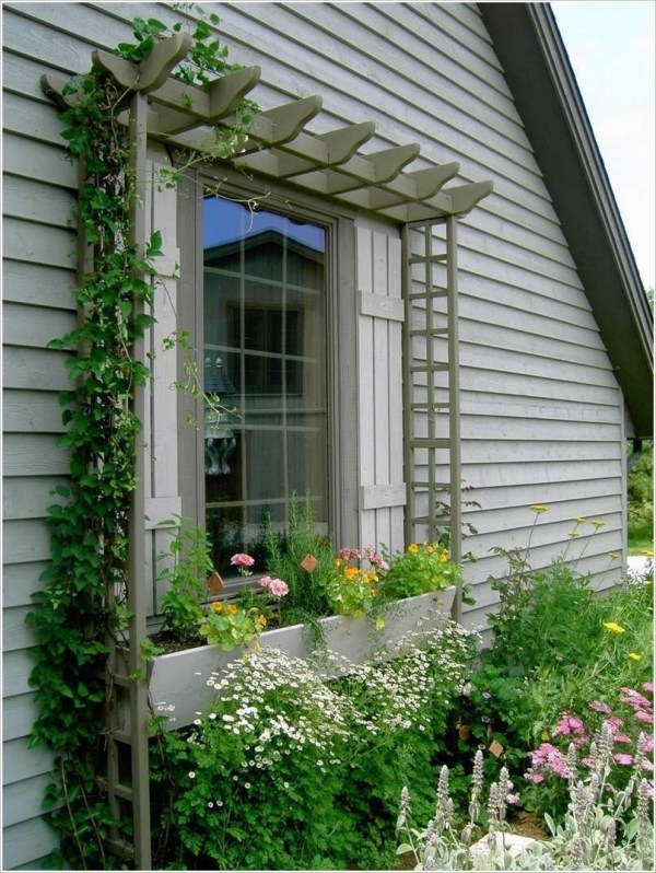 Best Ideas To Decorate Your Big Window 44
