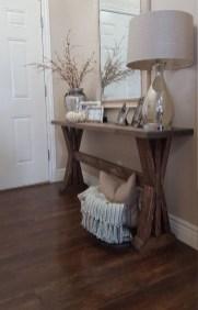 Comfy Rustic Living Room Decor Ideas 16