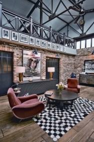 Comfy Rustic Living Room Decor Ideas 17