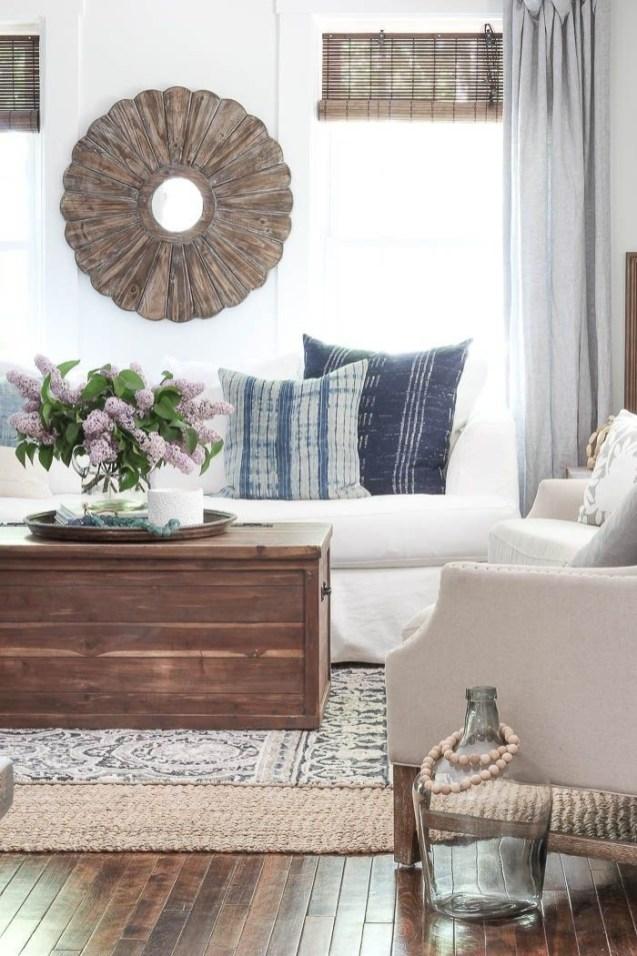 Comfy Rustic Living Room Decor Ideas 28