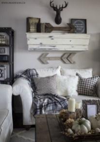 Comfy Rustic Living Room Decor Ideas 32