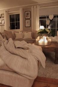 Comfy Rustic Living Room Decor Ideas 35