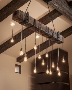 Comfy Rustic Living Room Decor Ideas 43