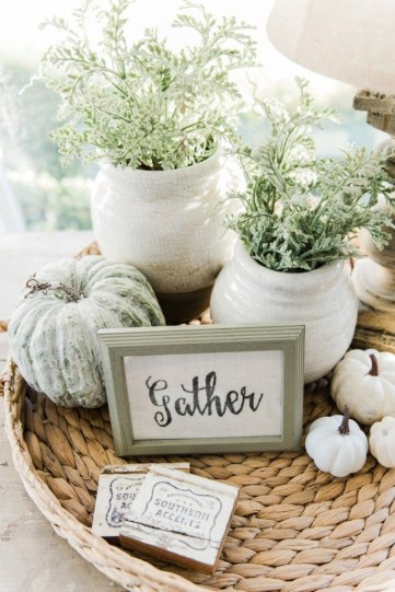 Cozy Fall Porch Farmhouse Style 07