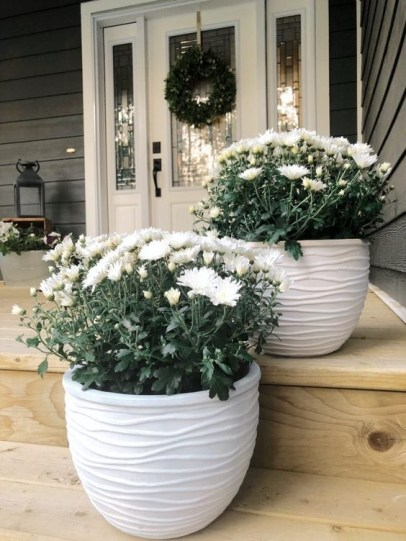 Cozy Fall Porch Farmhouse Style 08