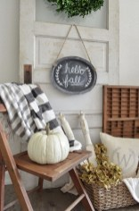 Cozy Fall Porch Farmhouse Style 10