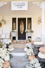 Cozy Fall Porch Farmhouse Style 18