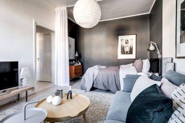 Cozy Small Apartment Bedroom Remodel Ideas 07