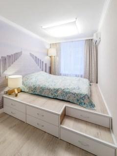 Cozy Small Apartment Bedroom Remodel Ideas 44