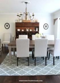 Creative Dining Room Rug Design Ideas 09