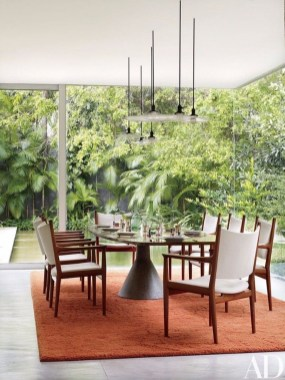 Creative Dining Room Rug Design Ideas 22