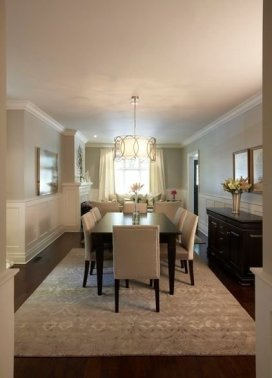 Creative Dining Room Rug Design Ideas 24