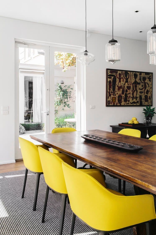Creative Dining Room Rug Design Ideas 45