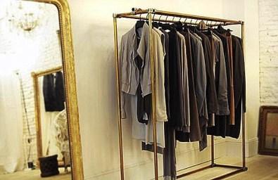 Easy And Practical Clothing Racks For Casual Décor Ideas 12