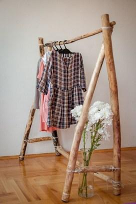 Easy And Practical Clothing Racks For Casual Décor Ideas 24