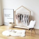 Easy And Practical Clothing Racks For Casual Décor Ideas 39