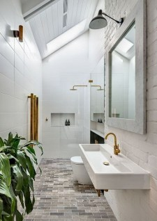 Luxury Black And White Bathroom Design Ideas 15