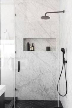 Luxury Black And White Bathroom Design Ideas 32