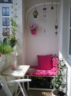 Perfect Small Balcony Design Ideas 18