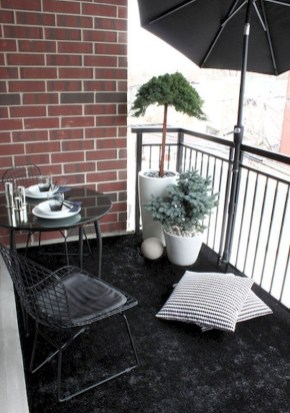 Perfect Small Balcony Design Ideas 38