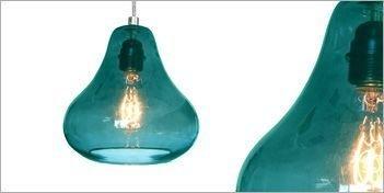 Pretty Aqua Pendant Lamp Ideas 12