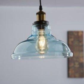 Pretty Aqua Pendant Lamp Ideas 14