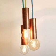 Pretty Aqua Pendant Lamp Ideas 15