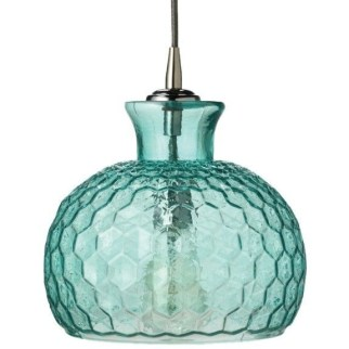 Pretty Aqua Pendant Lamp Ideas 21