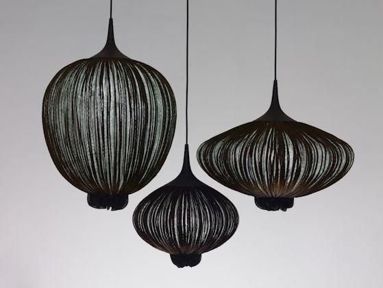 Pretty Aqua Pendant Lamp Ideas 24