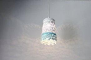 Pretty Aqua Pendant Lamp Ideas 27