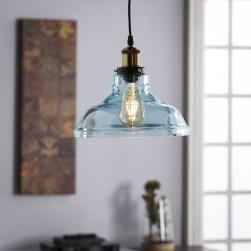 Pretty Aqua Pendant Lamp Ideas 38