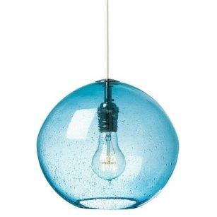 Pretty Aqua Pendant Lamp Ideas 44