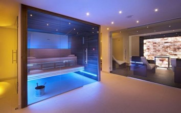Wonderful Home Sauna Design Ideas 09