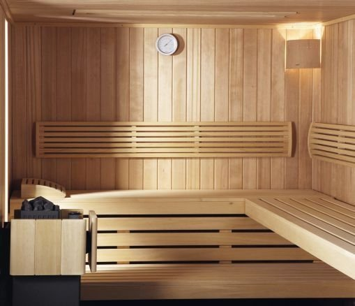 Wonderful Home Sauna Design Ideas 14
