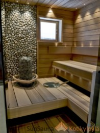 Wonderful Home Sauna Design Ideas 21