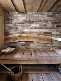Wonderful Home Sauna Design Ideas 22