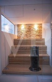 Wonderful Home Sauna Design Ideas 23