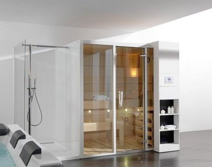 Wonderful Home Sauna Design Ideas 24
