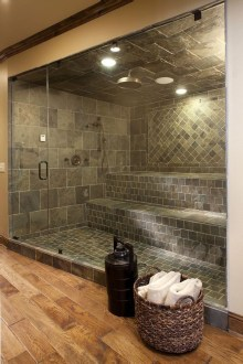 Wonderful Home Sauna Design Ideas 25