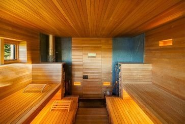 Wonderful Home Sauna Design Ideas 26